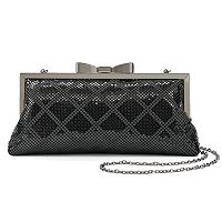 Lenore by La Regale Mesh Framed Clutch