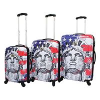 Chariot Liberty 3 pc Hardside Spinner Luggage Set