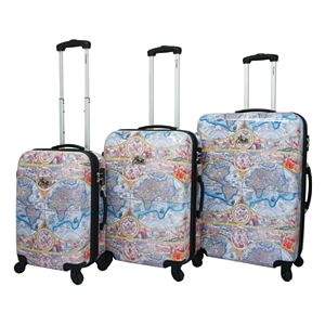 Chariot One World 3-Piece Hardside Spinner Luggage Set