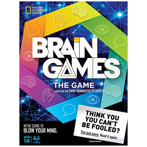 National Geographics Brain Games By Buffalo Games
