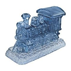 BePuzzled 38 pc Locomotive 3D Crystal Puzzle