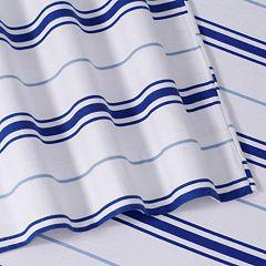 Striped Deep Pocket Flannel Sheet Set