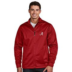Men's Antigua Alabama Crimson Tide Waterproof Golf Jacket