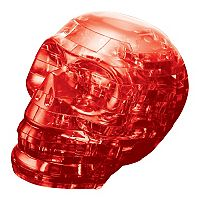 BePuzzled 48 pc Red Skull 3D Crystal Puzzle