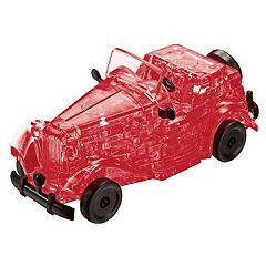 BePuzzled 53 pc Classic Car 3D Crystal Puzzle