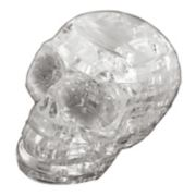 BePuzzled 48-pc. Clear Skull 3D Crystal Puzzle