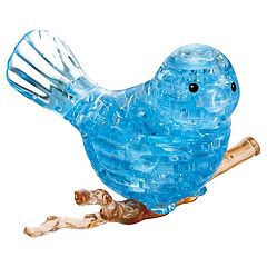 BePuzzled 47 pc Blue Bird 3D Crystal Puzzle