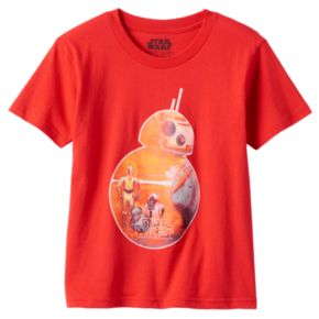 Toddler Boy Star Wars: Episode VII The Force Awakens Droids Graphic Tee