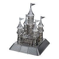BePuzzled 104 pc Castle 3D Crystal Puzzle