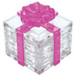 BePuzzled 38 pc Pink Bow Gift Box 3D Crystal Puzzle