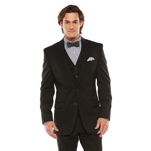 Men's Chaps Performance Classic-Fit Wool-Blend Comfort Stretch Suit Jacket