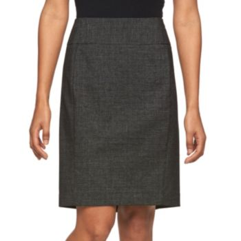 Petite Apt. 9® Slubbed Pencil Skirt