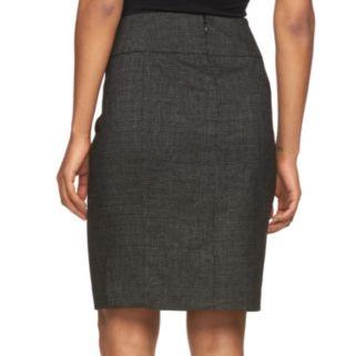 Petite Apt. 9® Slubbed Pencil Skirt