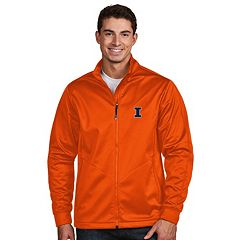 Men's Antigua Illinois Fighting Illini Waterproof Golf Jacket