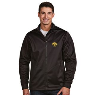 Men's Antigua Iowa Hawkeyes Waterproof Golf Jacket