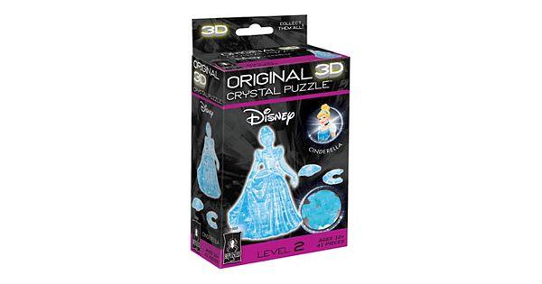 Disney S Cinderella 41 Pc 3d Crystal Puzzle By Bepuzzled