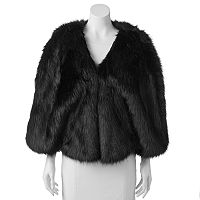 Lenore by La Regale Faux-Fur Capelet