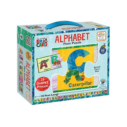 The World of Eric Carle 26-pc. Alphabet Floor Puzzle by BePuzzled