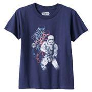 Toddler Boy Star Wars: Episode VII The Force Awakens Stormtrooper Navy Graphic Tee