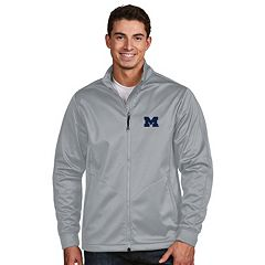 Men's Antigua Michigan Wolverines Waterproof Golf Jacket