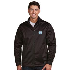 Men's Antigua North Carolina Tar Heels Waterproof Golf Jacket