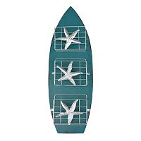 Surfboard 3-Basket Wall Decor