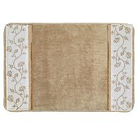 Popular Bath Maddie Banded Bath Rug