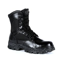 Rocky AlphaForce Men's Side-Zip Waterproof Work Boots