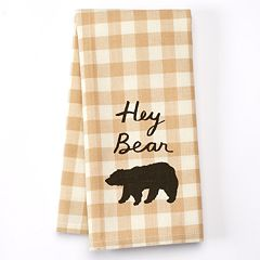 Celebrate Local Life Together 'Hey Bear' Kitchen Towel