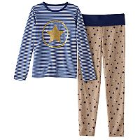 Girls 4-12 Chloe & Olivia Star Pajama Set