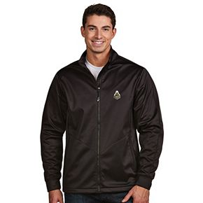 Men's Antigua Purdue Boilermakers Waterproof Golf Jacket