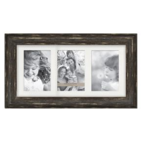 "Enchante Accessories 4"" x 6"" Distressed Collage Frame"