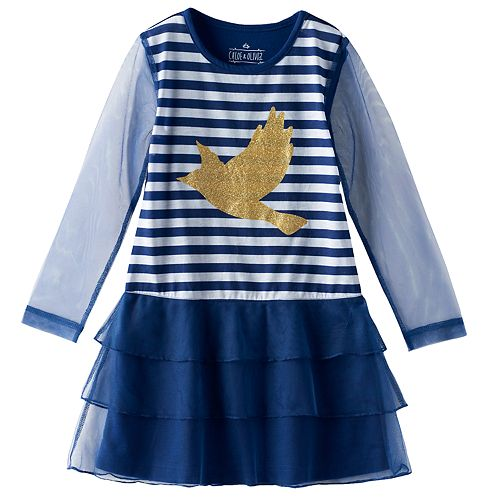 Girls 4-12 Chloe & Olivia Tiered Nightgown