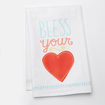 Celebrate Local Life Together Bless Your Heart Kitchen Towel