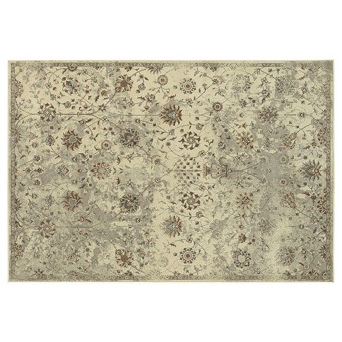 StyleHaven Portia Distressed Traditional Floral Rug