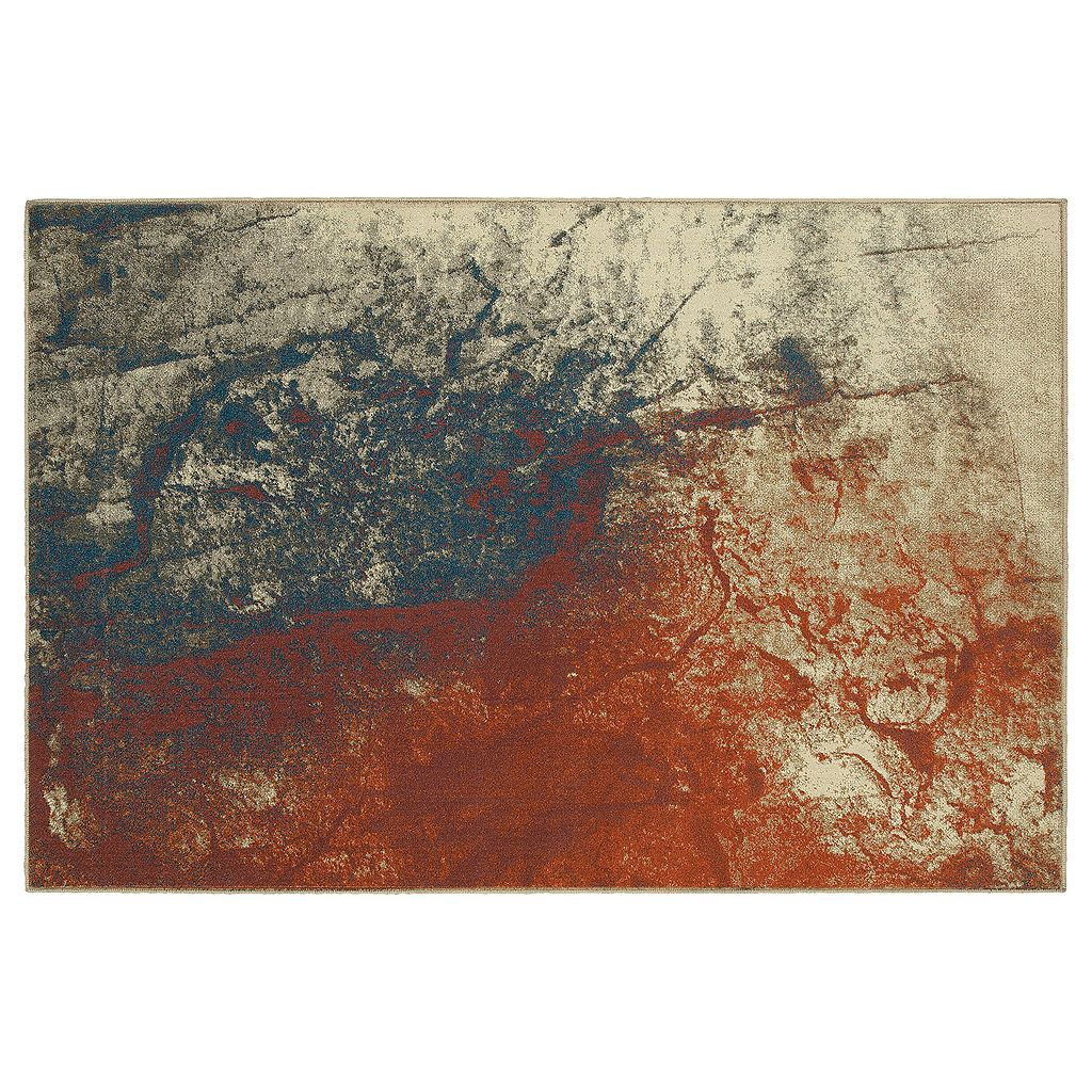 StyleHaven Portia Spilled Paint Abstract Rug