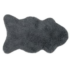 Loloi Grayson Solid Faux Fur Shag Rug - 2'6'' x 4'2''