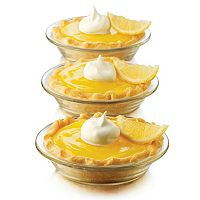Libbey Just Baking 10 pc Pie Plate Set