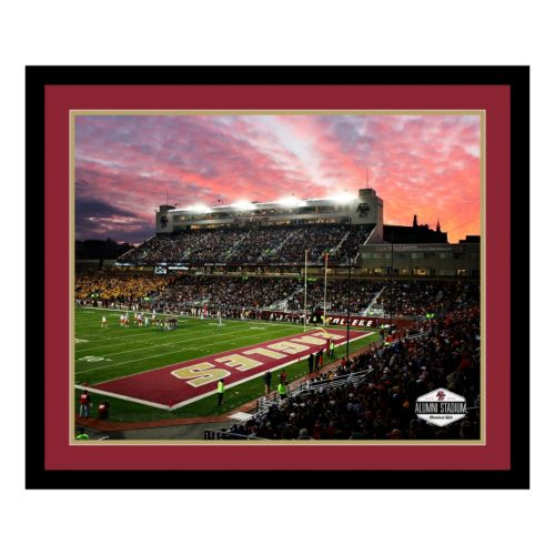 Boston College Eagles Stadium Framed Wall Art