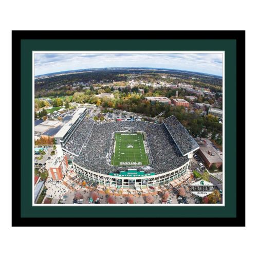 Michigan State Spartans Stadium Framed Wall Art