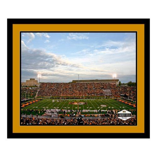 Missouri Tigers Stadium Framed Wall Art