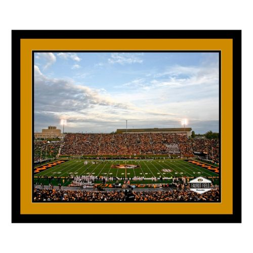 Missouri Tigers Stadium Framed Wall Art