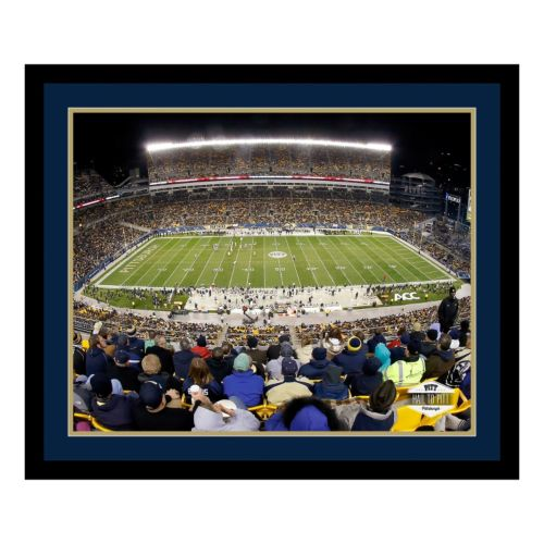 Pitt Panthers Stadium Framed Wall Art