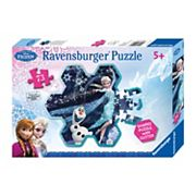 Disney's Frozen 73 pc Snowflake Puzzle by Ravensburger