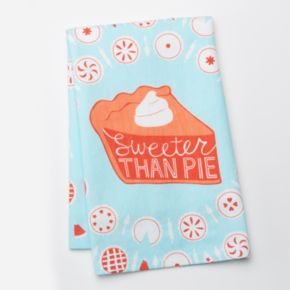 """Celebrate Local Life Together """"Sweeter Than Pie"""" Kitchen Towel"""