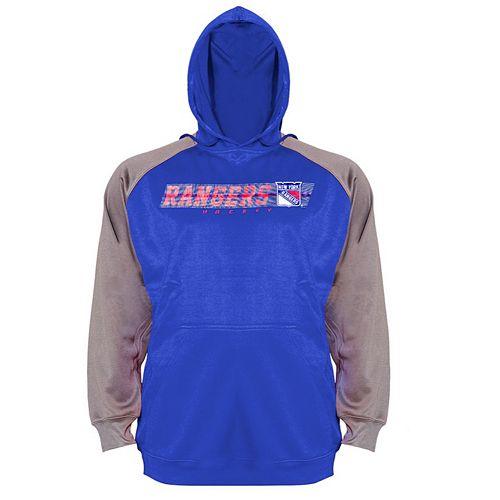 Big & Tall Majestic New York Rangers Raglan Hoodie
