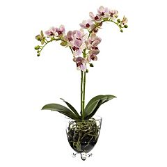 nearly natural Raspberry Orchid Artificial Flowers