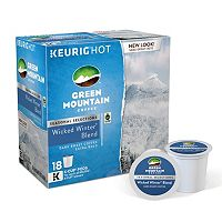 Keurig® K-Cup® Pod Green Mountain Wicked Winter Blend Dark Roast Coffee - 18-pk.