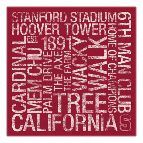 Stanford Cardinal Subway Canva...