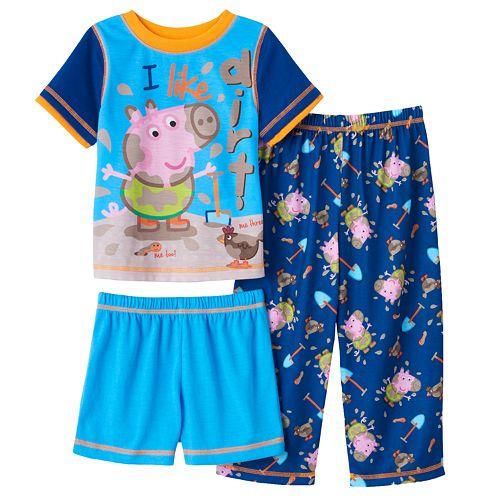George The Pig Boys George Pig Pyjamas Snuggle Fit